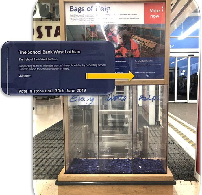 Tesco Bags of Hope