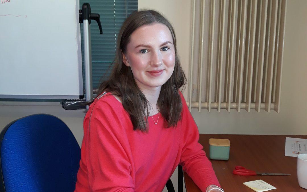 Project worker Meg