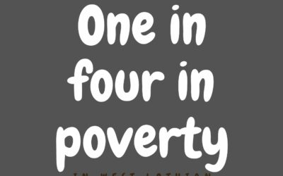 Nearly one in four children living in poverty