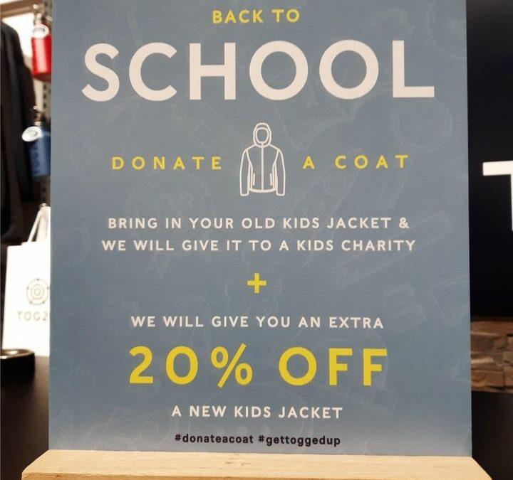 #donateacoat Tog24